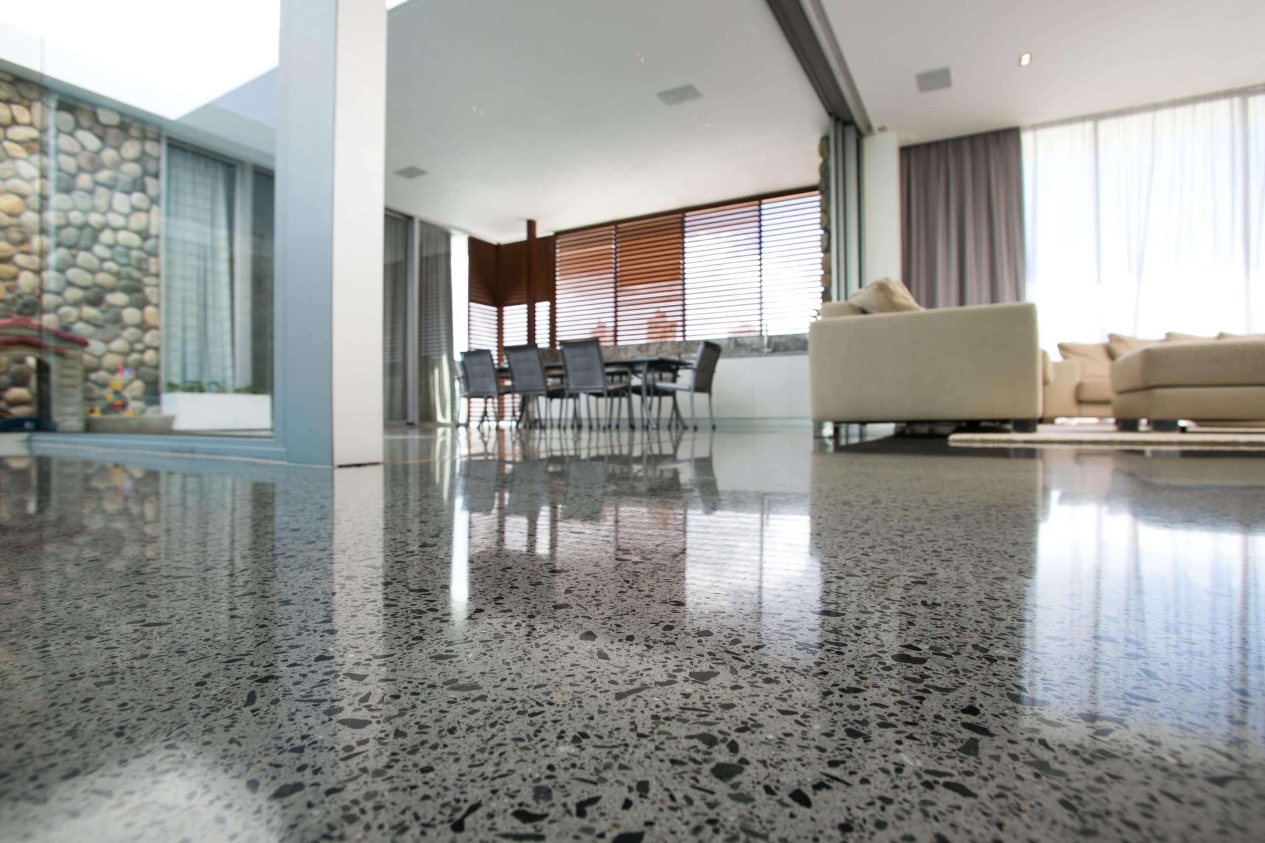 marble floor house