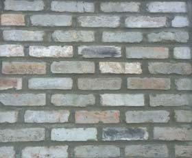 thin brick veneer grey mixed