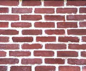 red brick veneer