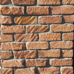 Dade Orange brick Wall