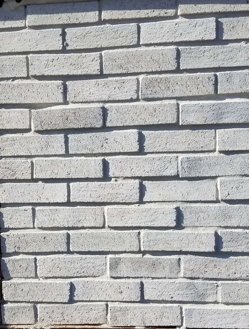 Light Grey brick tile