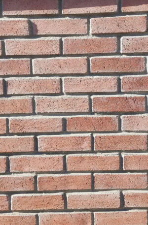 Terracotta Brick Wall