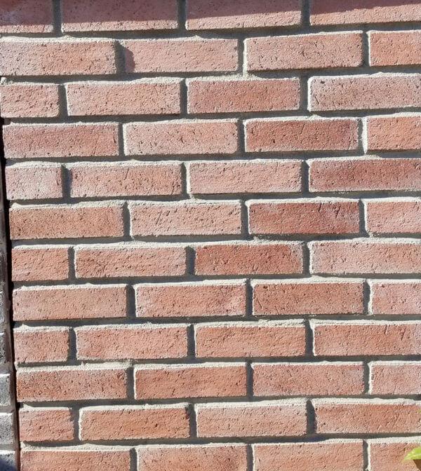 Terracotta Brick Wall