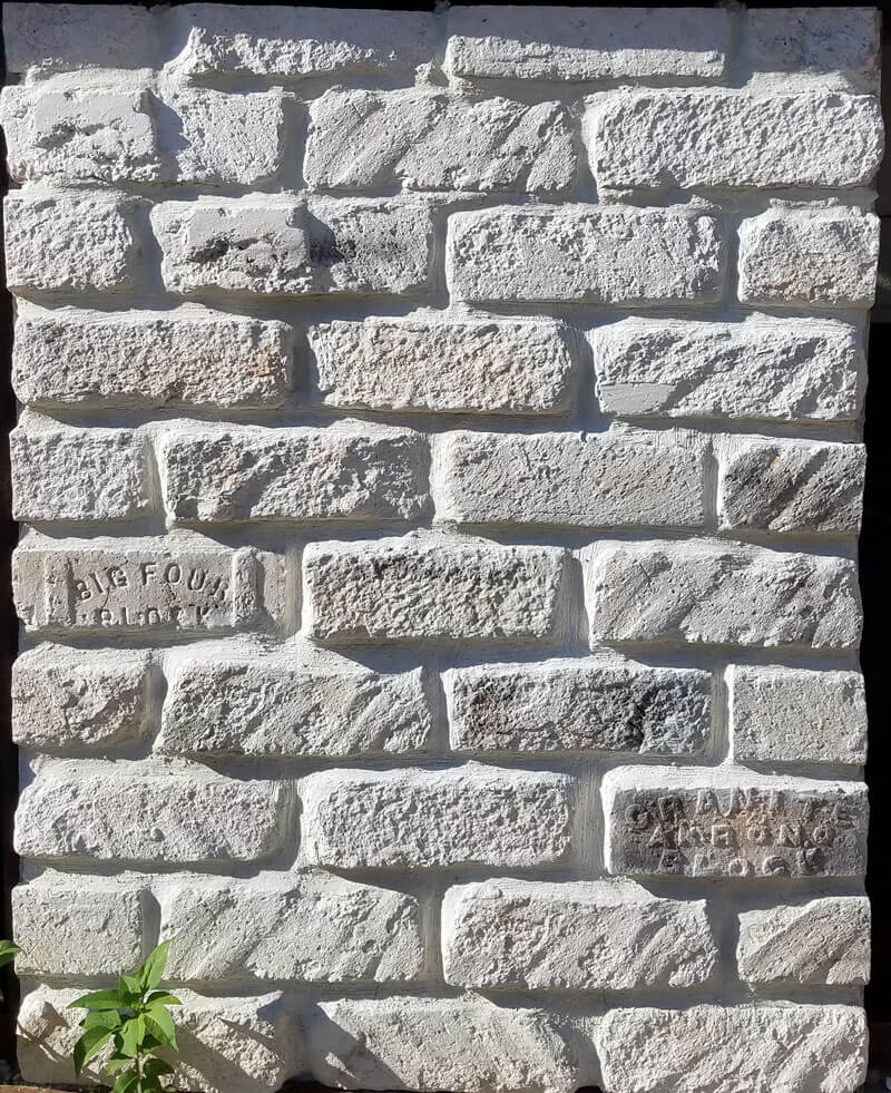 White mix Brick Tiles