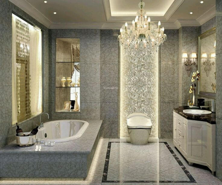 Convert Your Usual Restrooms Into Luxury Bathrooms For Having The Perfect  Royal Experience