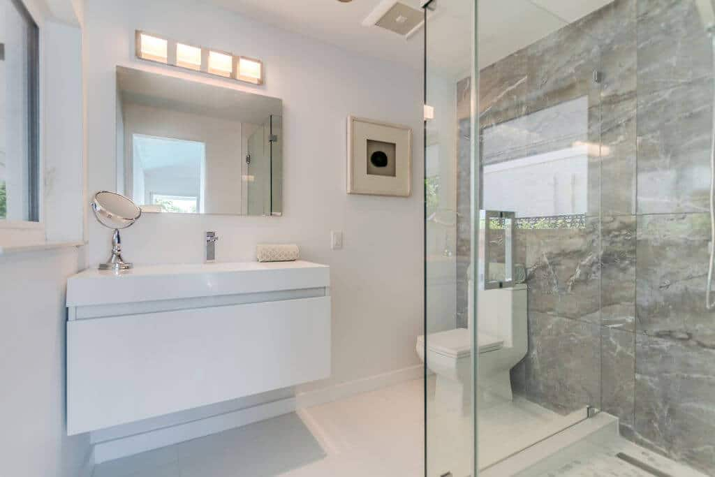 Bathroom Glass and Tiles