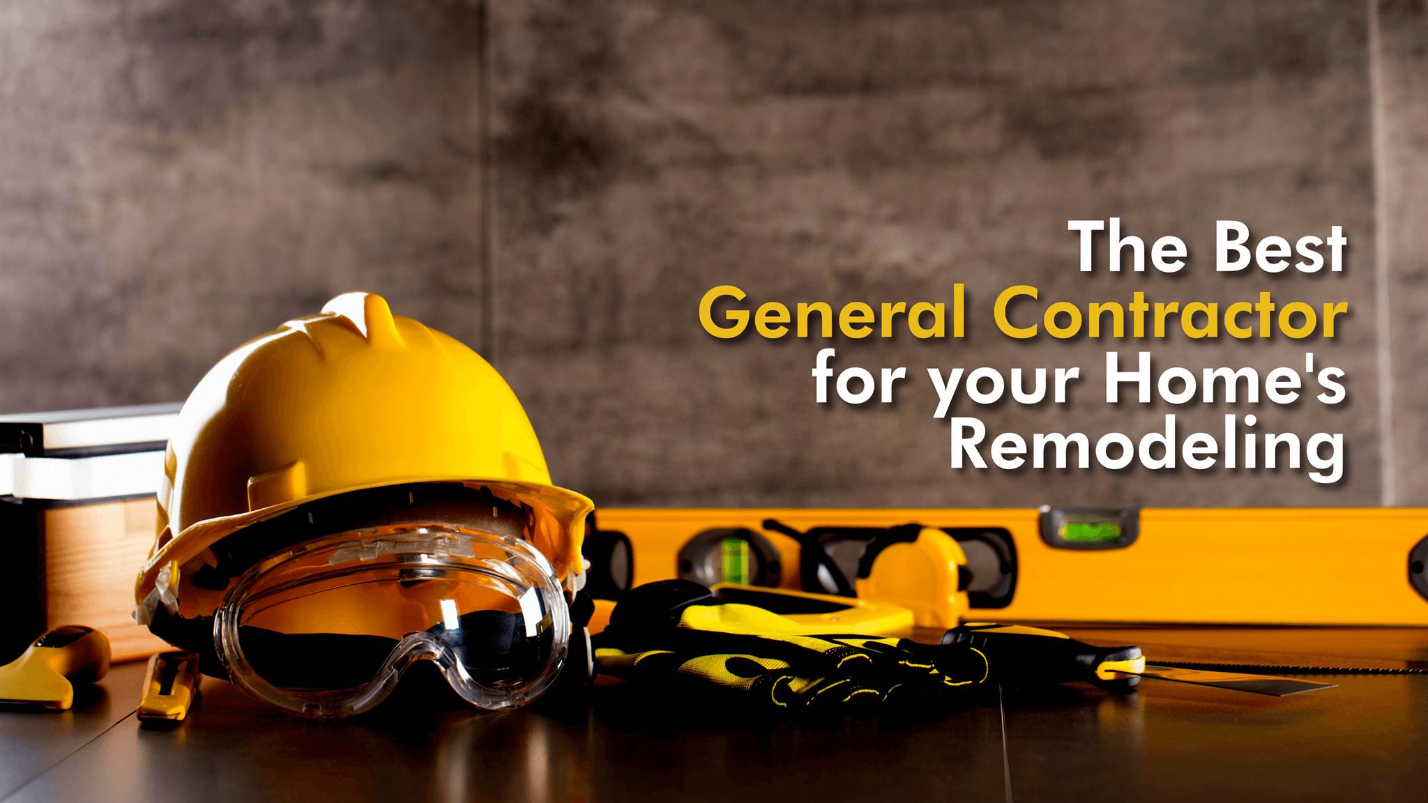 General contartor tools